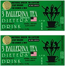 3 Ballerina Tea Dieters' Drink Extra Strength (2 boxes x 18 teabags)