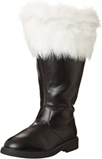 real leather santa boots