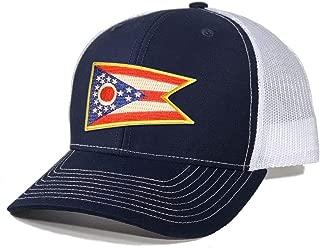 Men's Ohio Flag Patch Trucker Hat
