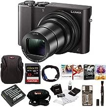 Panasonic Lumix DMC-ZS100 Digital Camera Bundles (Essentials Bundle, Black) (6-Items)