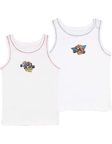 2-3 Boys Childrens Kids Underwear 2 Pack Warm White 100/% Cotton Winter Vest Top Sizes 1-2 3-5 6-8 9-11 11-13 Years