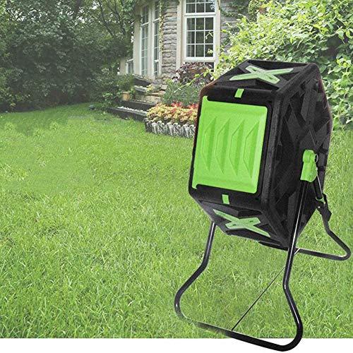 Composting Tumbler, 18 Gallon Compost Bin, Outdoor 360° Rotating...