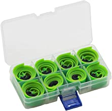 Huntcool 10pcs Powerful Slingshot Flat Rubber Band 0.75mm Thickness with Box for Hunting Slingshot Catapult