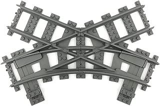Trixbrix Single Slip R40, Compatible with Lego Train, 3D Printed!