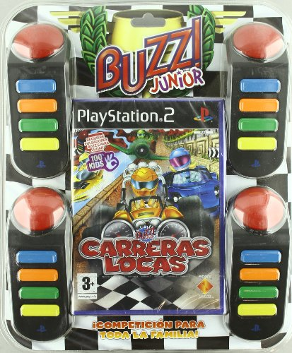 Buzz! Junior: Carreras Locas + Buzzer Controllers