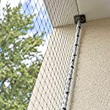 Halterung für Katzenschutznetz - 4