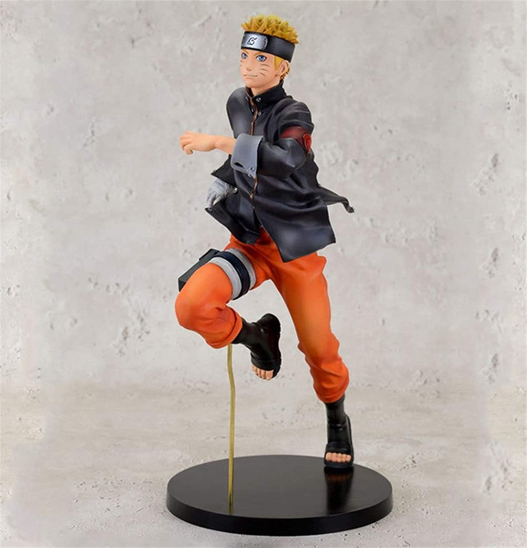 Gjrff Spielzeugmodell Naruto Run Swirl Modell Pendel Anime Dekoration 22cm