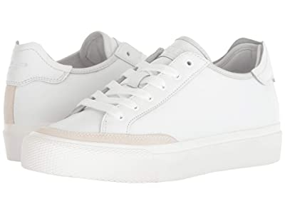 rag & bone RB Army Low Top Sneaker (White Leather) Women