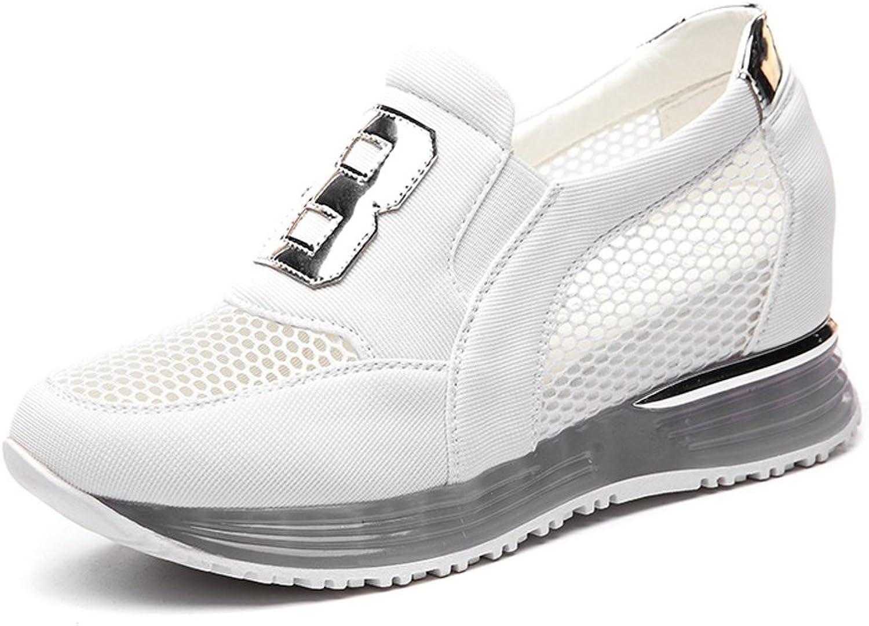 Minkun Elegant Woman's shoes Running shoes mesh Breathable Sports shoes Fashion Casual shoes Pumps shoes