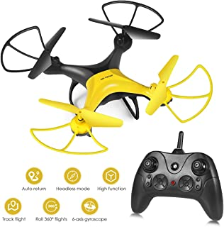 RC Drone, [2019 Upgraded] 360-Degree Flip & Rolls RC Helicopter for Kids Adults, Easy to Fly Even to Beginners with Altitude Hold, One Key Start/Land, Draw Path, 3D Flips