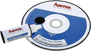 Hama Reinigungs CD für CD und DVD Player (Disk mit Reinigungsflüssigkeit, einzeln..