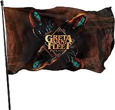 CJGlinzhanymx Greta Van Fleet Home Decoration Flag Garden Flag Indoor Outdoor Flag 3x5 FT