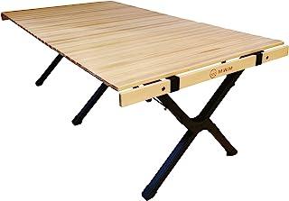 M.W.M 『Ready Table 2』 ロールトップテーブル 120㎝ アルミフレーム