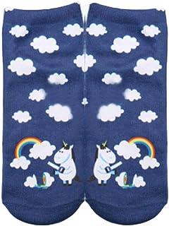 Unicornio Lindo Calcetines Impresos Para Deporte Casuales Calcetines Damas Hombres Estilo Simple Niña Calcetines Invisibles Calcetines De Moda