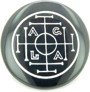 Best Amulets Fortune, Wealth and Success Talisman Black Onyx Magic Gemstone Circle Spiritual Powers Keepsake Individual Totem