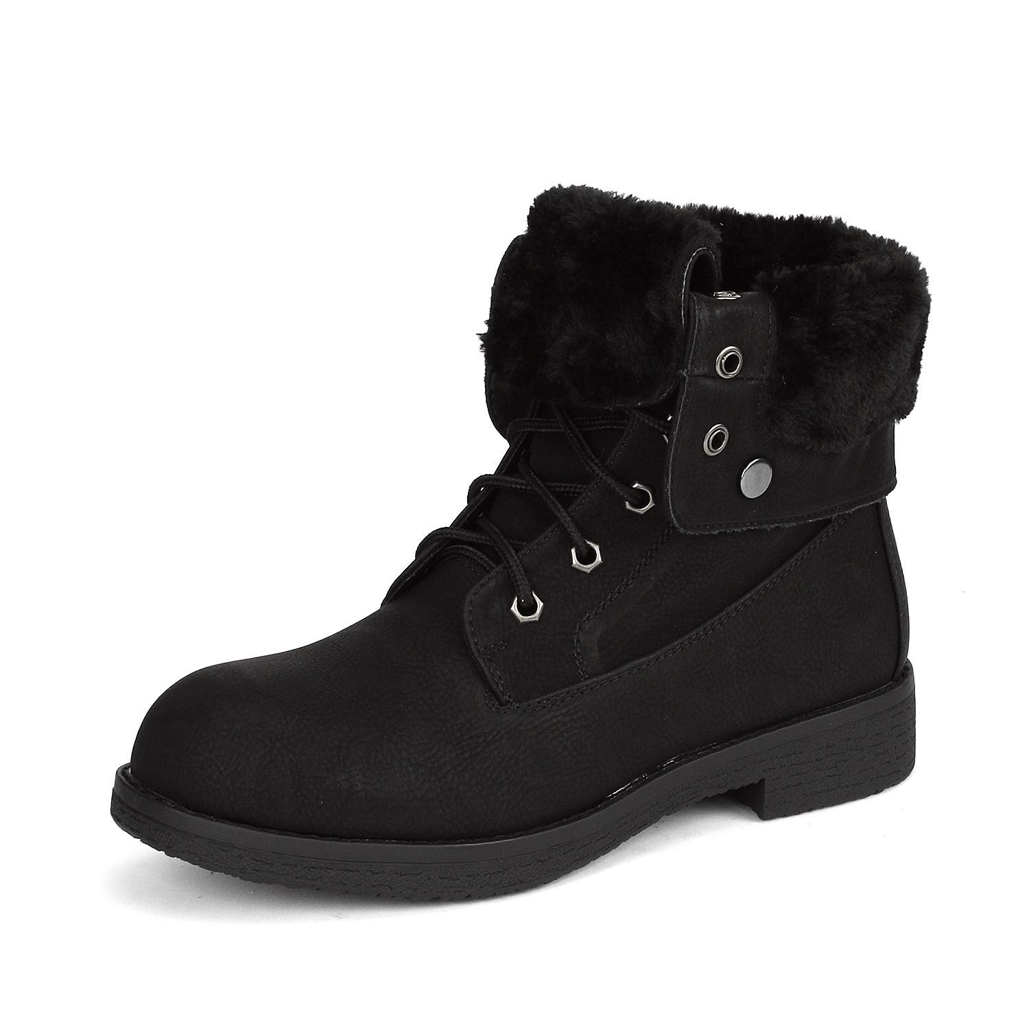 DREAM PAIRS Womens Montreal Bootie