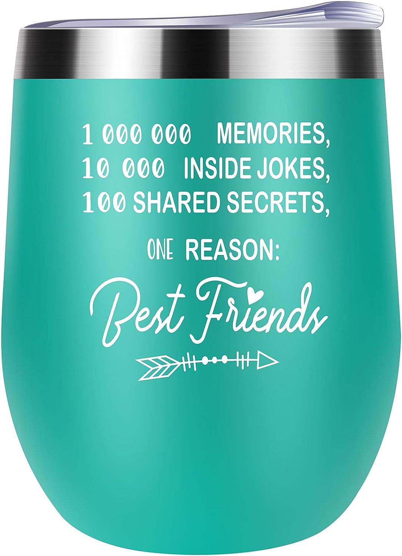 Friendship Gifts For Nashville-Davidson Mall Women Wine Sister 2021 new Tumbler From