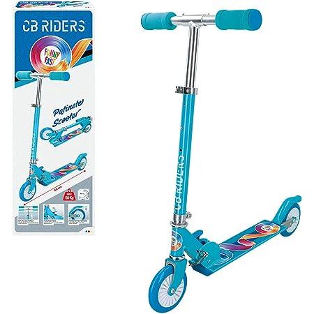 CB Riders - Patinete para niños 3 años patinete plegable aluminio ruedas 12 cm cb riders (54068)
