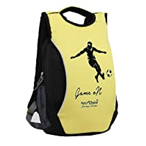 Right Choice Synthetic Yellow Backpack