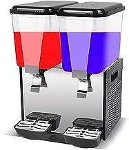 CLING Två cylindrar kommersiell dryckesdispenser varm och kall dubbel temperatur juice is te dryckmaskin hög kapacitet en ...