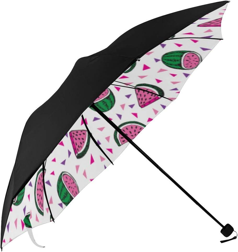 Big Umbrella Ranking Cheap sale TOP13 For Sun Watermelon Pattern Undersi Cartoon Seamless