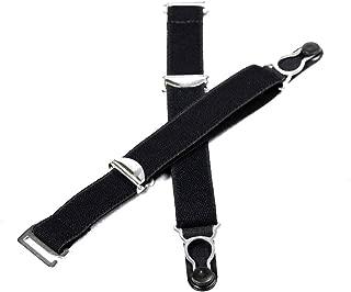 Nyteez Women's Set of 6 Corset Garter Clips/Suspender Clips (Black)