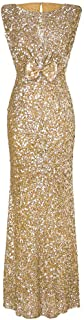 Party Dresses for Women Sexy Elegant Kstare Womens Evening Backless Prom Sequin Glitter Stretchy Cocktail Long Dress