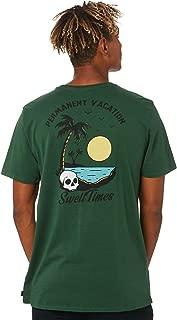 Swell Men's Lagoon Tee Short Sleeve Cotton Green