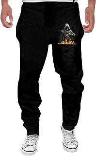 Men's Assassins Creed Edward Kenway Black Sweatpant Sport Casul Pant