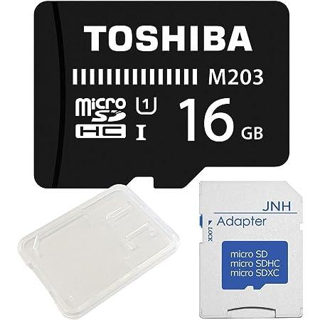 2年保証 東芝超高速UHS-I microSDHC 16GB + SD アダプター + 保管用クリアケース [バルク品]