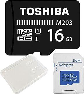 2年保証 東芝 Toshiba 超高速UHS-I microSDHC 16GB + SD アダプター + 保管用クリアケース [バルク品]