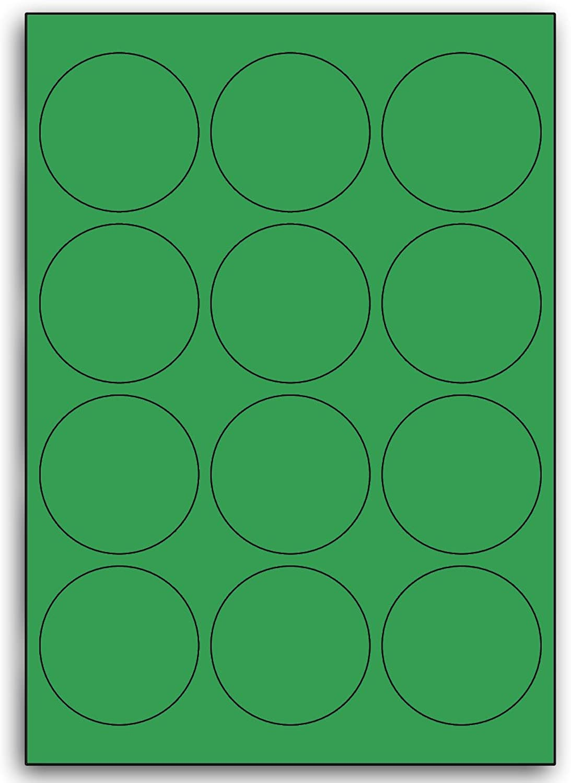 Multi Purpose Grün Round Labels - 12 Labels Per Per Per Sheet - 100 Sheets 63mm Diameter B00BXE62HC  | Grüne, neue Technologie  fbbba6
