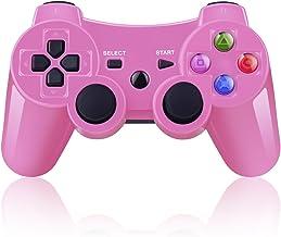 BLUELAKE performance Mando Inalámbrico Bluetooth Controller Doble Vibración para Sony PS3 Playstation 8 con Funciones SIXAXIS