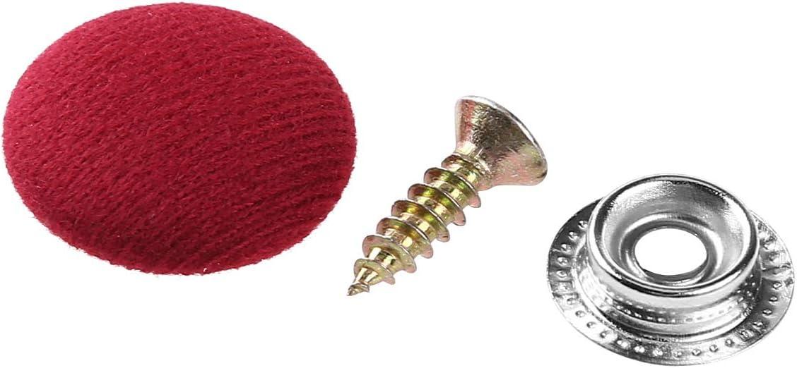 TiaoBug 30er Set Auto Befestigung Clips Universal Nieten Pin Rivet Stoff bezogene Schrauben Verschluss T/ürverkleidung Klammern Befestigungclips