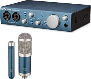 PreSonus AudioBox iTwo USB 2.0 Recording Interface with MXL 550/551 Microphone Ensemble Kit (Blue) Bundle