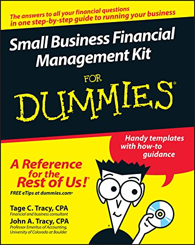 Compare Textbook Prices for Small Business Financial Management Kit For Dummies 1 Edition ISBN 9780470125083 by Tage C. Tracy,John A. Tracy