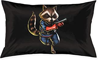 AAHMED ANI-me Mo-Vie Rocket Raccoon Throw Pillows Covers Pillow Case Modern Cushion Cover Square Pillowcase Decoration-for...