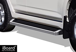 APS iBoard (Silver Running Board) Running Boards Nerf Bars Side Steps Compatible with 2010-2020 Toyota 4Runner Limited Sport Utility 4-Door & 2010-2013 4Runner SR5