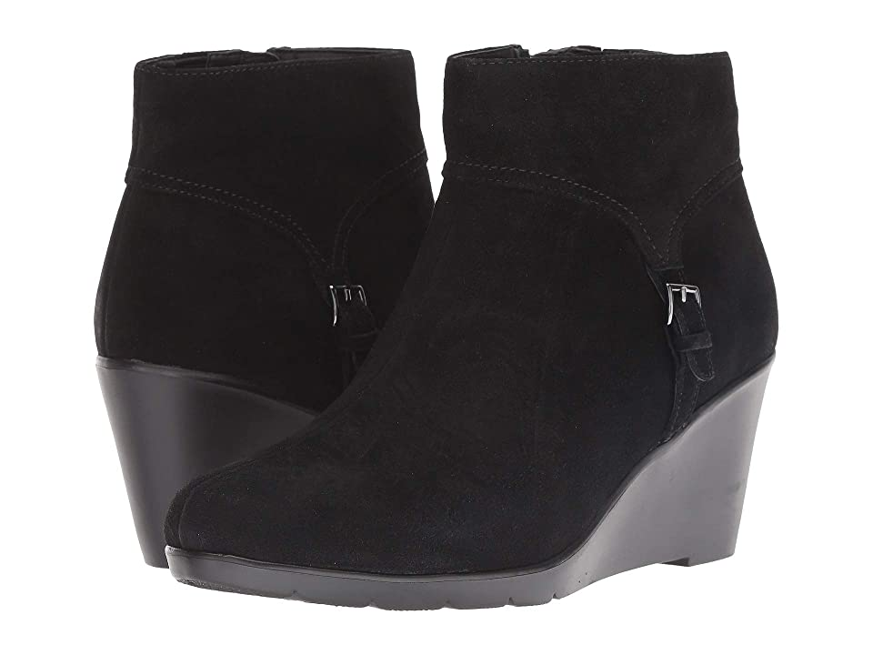 Blondo Lacy Waterproof (Black Suede) Women