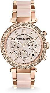 ساعة يد انالوج بعقارب وكاجوال للنساء من مايكل كورس، موديل MK5896
