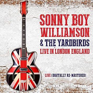 Sonny Boy Williamson & The Yardbirds Live in London, England (Digitally Re-Mastered)