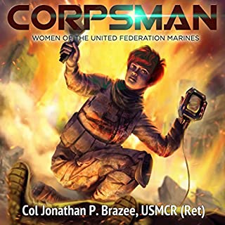 Corpsman audiobook cover art