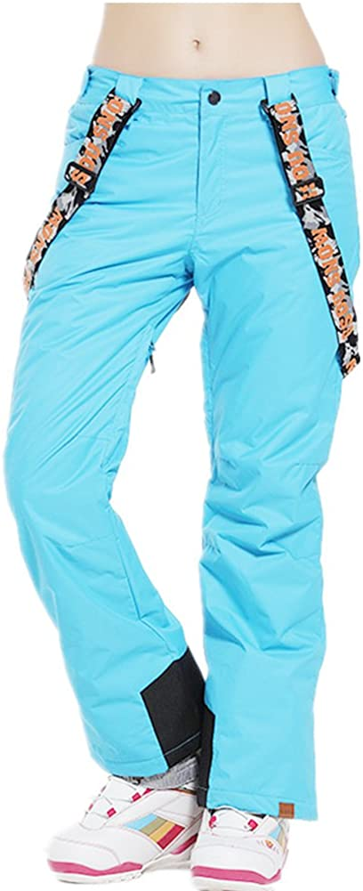 Women's オンラインショップ Insulated 即日出荷 Snow Pants Windproof Ski Waterproof Bibs