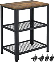 Best end table with casters Reviews