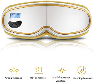 Constant Temperature Hot Compress Eye Massager Multi-Frequency Vibration Eye Massager Airbag Massage Eye Protector Go to The Eye Bags Dark Circles Relieve Fatigue Eye Protector Eye Mask