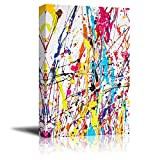 Canvas Prints Wall Art - Paint Splatter| Modern Home Deoration/Wall...
