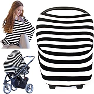 Nursing Cover for Baby Breastfeeding – Car Seat Canopy by KeaBabies –..
