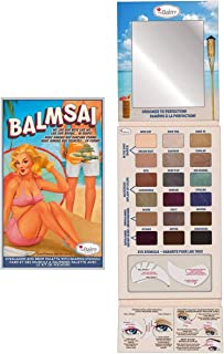 theBalm Balmsai Eyeshadow and Brow Stencil Palette - Multi Color, 0.5 oz.