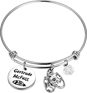 Lywjyb Birdgot Seussical The Musical Inspired Bracelet Gertrude McFuzz Thing 1 Thing 2 Gift Wickersham Monkey Gift Horton ...