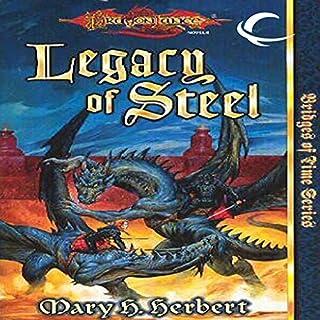 Legacy of Steel audiobook cover art